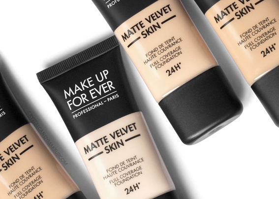 Make Up For Ever MUFE New Matte Velvet Skin Foundation Review