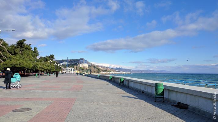 Набережная Алушты, Крым