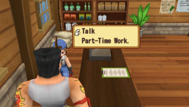 [Game PSP] Salah Satu Cara Dapat Uang/Gold HM HOLV Dengan Cara Part Time Work