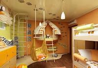 Habitación para niño aventurero