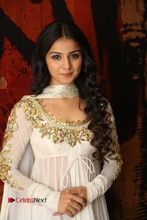 Telugu Actress Mahima Makwana Stills in White Desginer Dress at Venkatapuram Movie Logo Launch  0007.JPG