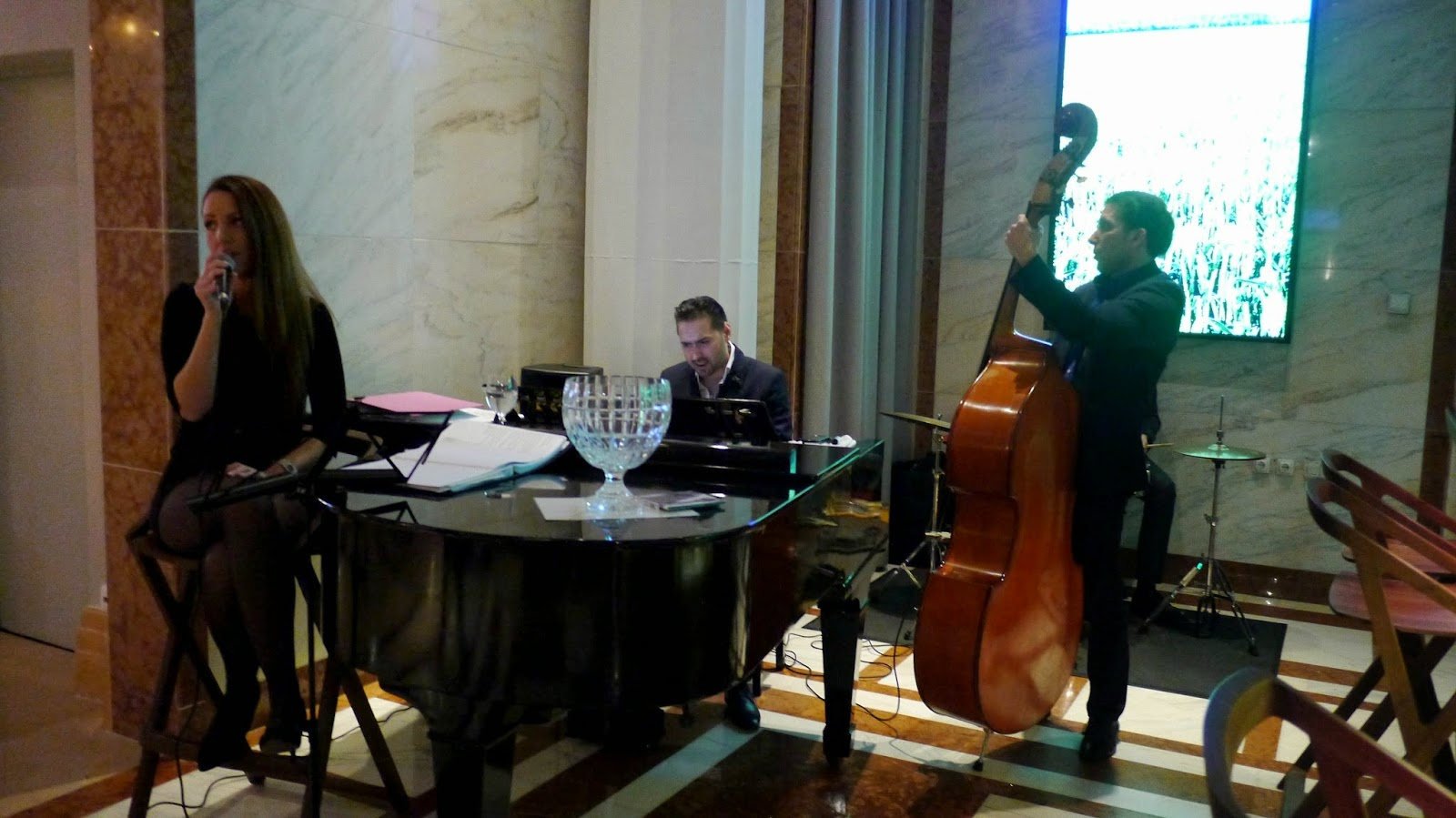 Le Meridien Budapest band