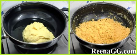 Moong Daal Laddu Recipe step 2