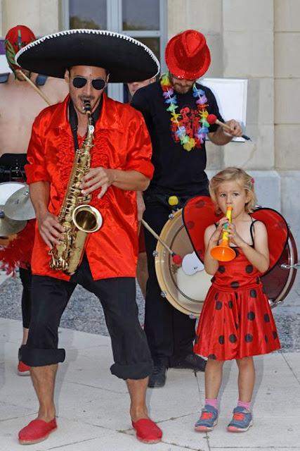 La fanfare Tahar Tag'l au Festival de la Buzine le mercredi 30 Août 2017 au Château de la Buzine à Marseille