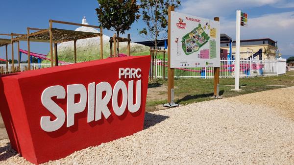 Plan entrée Parc Spirou