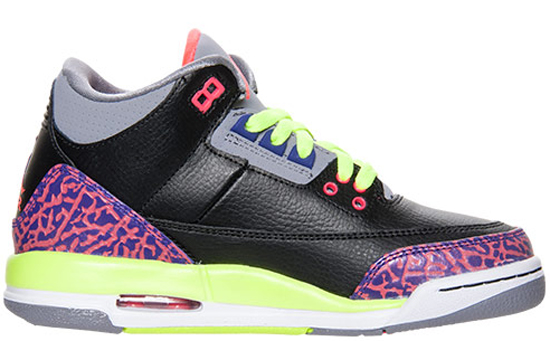 sports shoes 2ebb6 139b0 ... jordan 3 iii blackpurplefluorescent green,nike sales rep ajordanxi Your  1 Source For Sneaker Release Dates Girls Air ...