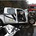 Acidente com veículo da Polícia Civil deixa dois feridos