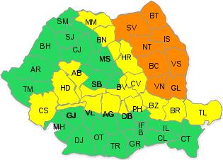 extrém időjárás, esőzések, árvízriadó, Románia, Székelyföld,