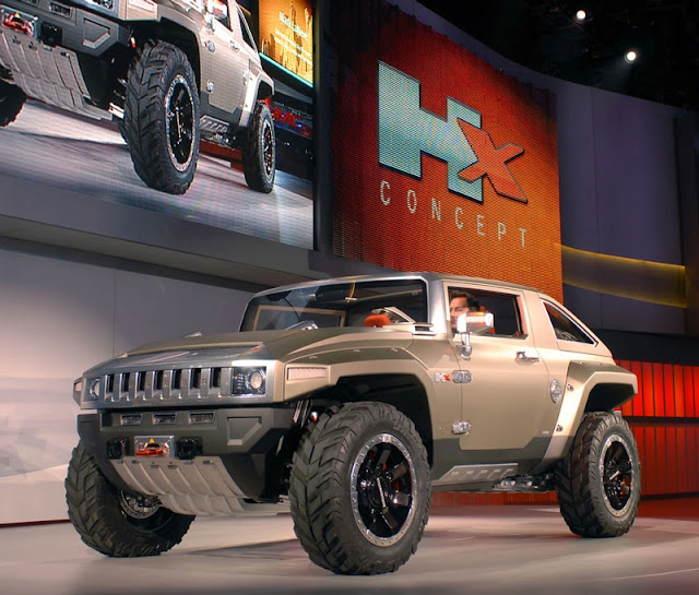 Cars Riccars Design: Hummer HX Concept Wallpapers