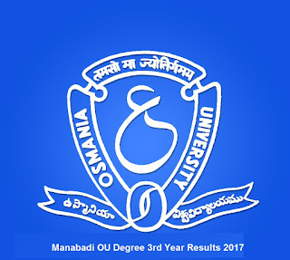 manabadi ou results 2017 3rd year