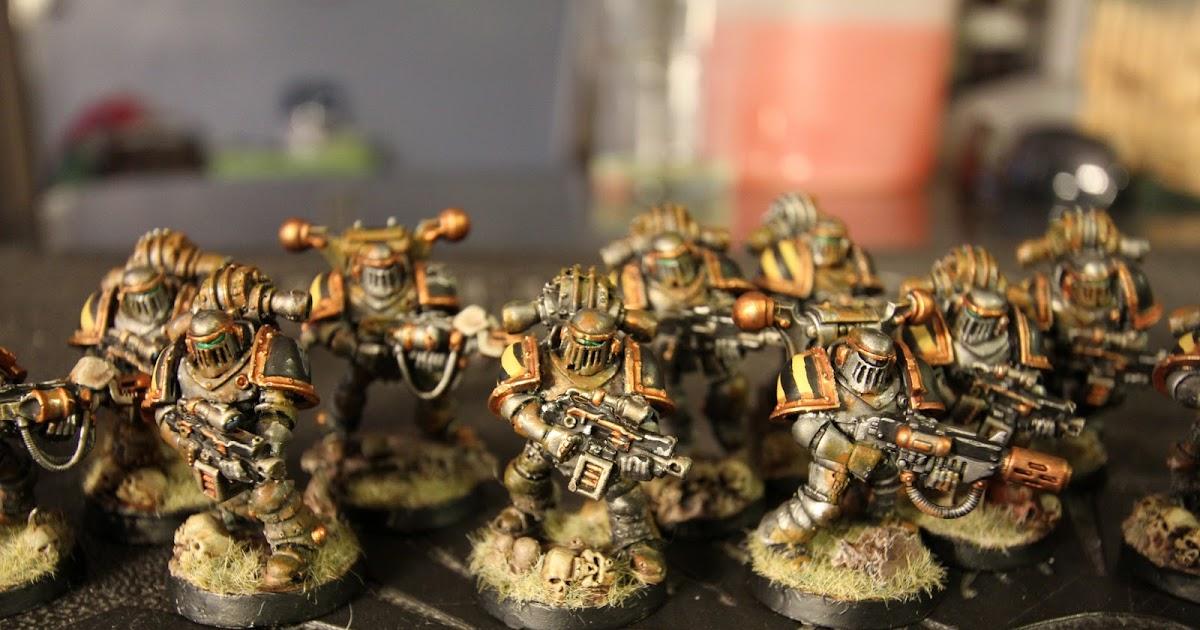Dark Future Games: Iron Warriors Progress