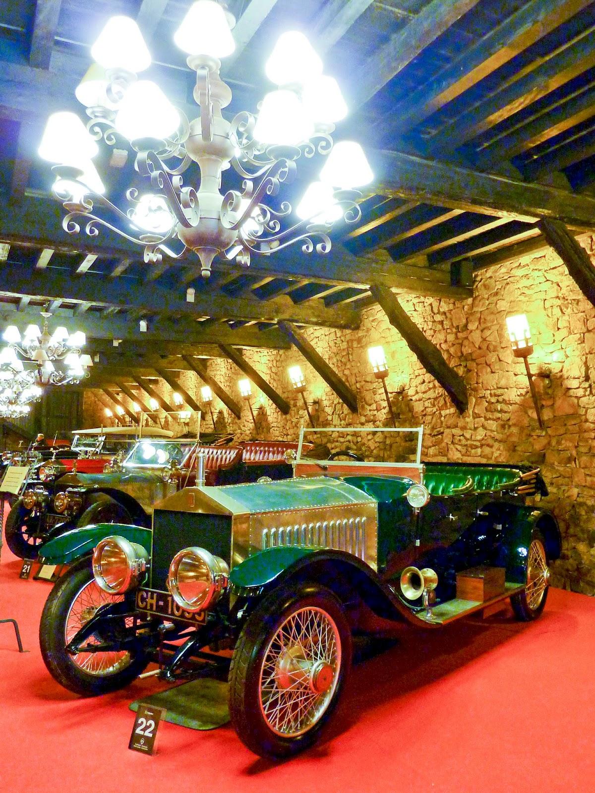 Antiguos Rolls-Royce, Torre Loizaga