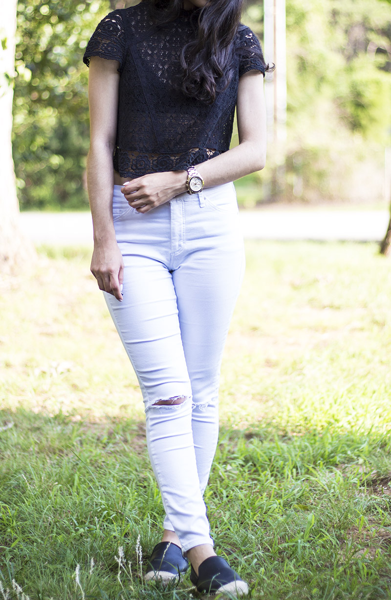 262441481f Forever 21 top similar here   here    Topshop jeans (on sale!)    H M shoes