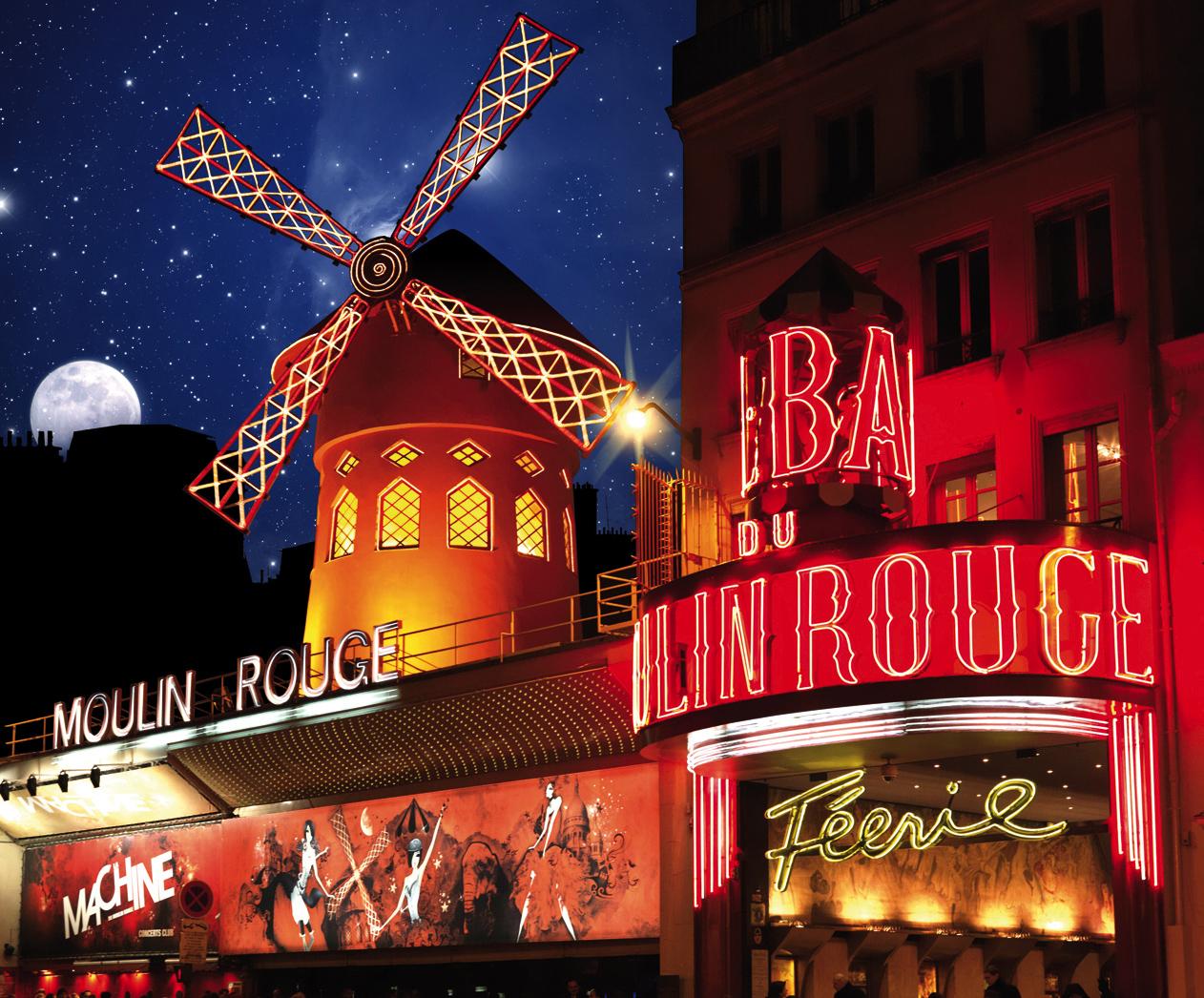 Moulin Rouge, Paris Dessin par Kirstin Mccoy   Artmajeur