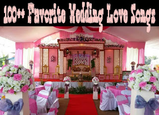 100 love song wedding liat