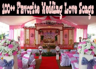 100 love song wedding liat