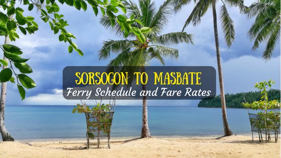 Sorsogon to Masbate ferry schedule