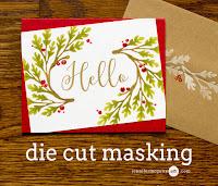 Die cut masking - video  -Jennifer McGuire