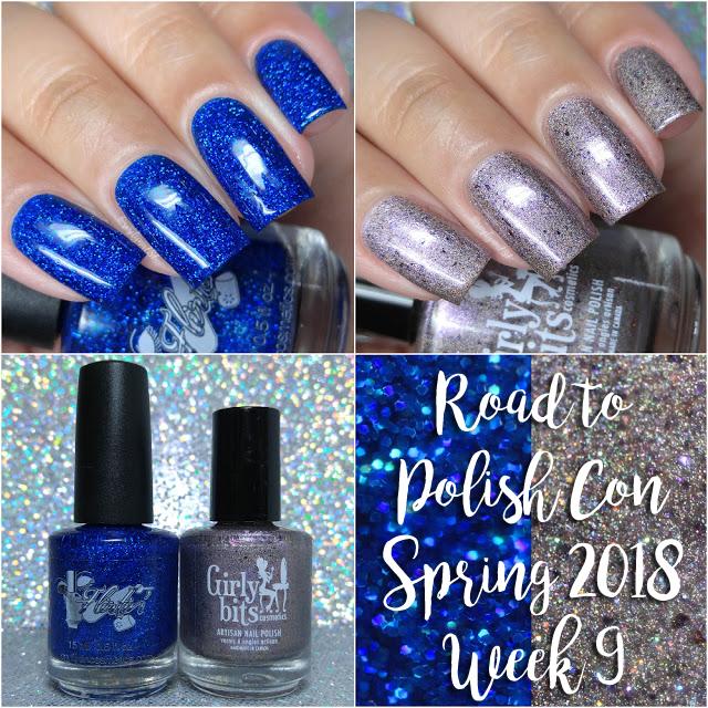 Road to Polish Con Spring 2018 | Week 9 - Flirtin Cosmetics & Girly Bits Cosmetics