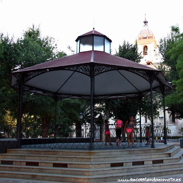 Marquesina hevidero de Villar en parque del Prado Ciudad Real