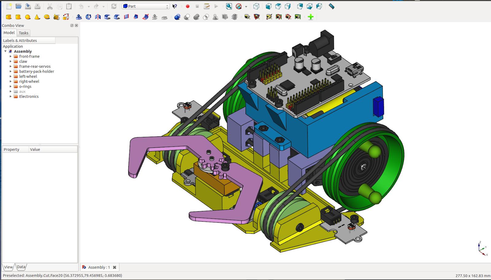 Ingenieria libre freecad un 3d cad libre for Disegno 3d free