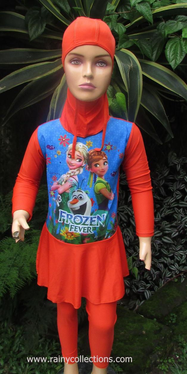 Rainy Collections Baju Renang Muslim Anak Berkarakter