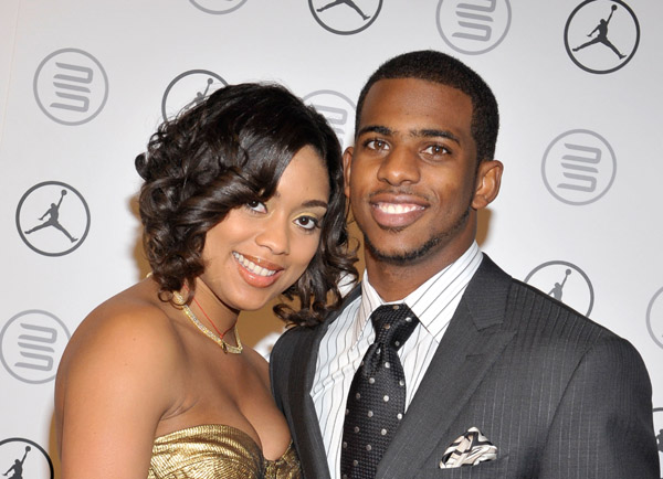 All About Sports: Chris Paul With His Wife Jada Crawley In ...