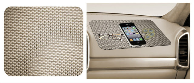 Generic (unbranded) Car Dashboard Anti Slip Mat (Beige) Just for 30/- Only