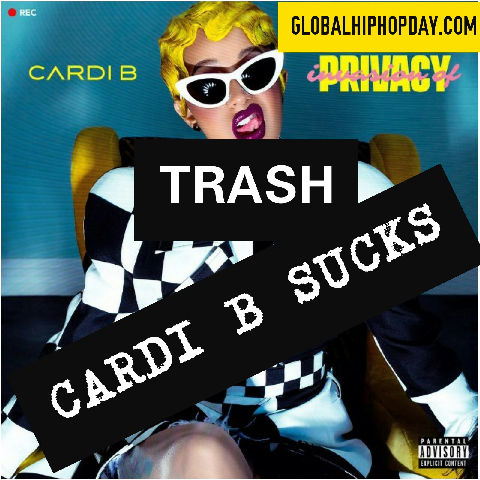 Cardi B S New Album Is Trash Invasionofprivacy Sucks