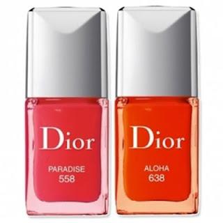 """Nails – Dior – """"558 Paradise"""""""