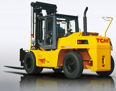xe nang TCM 6 15 tan