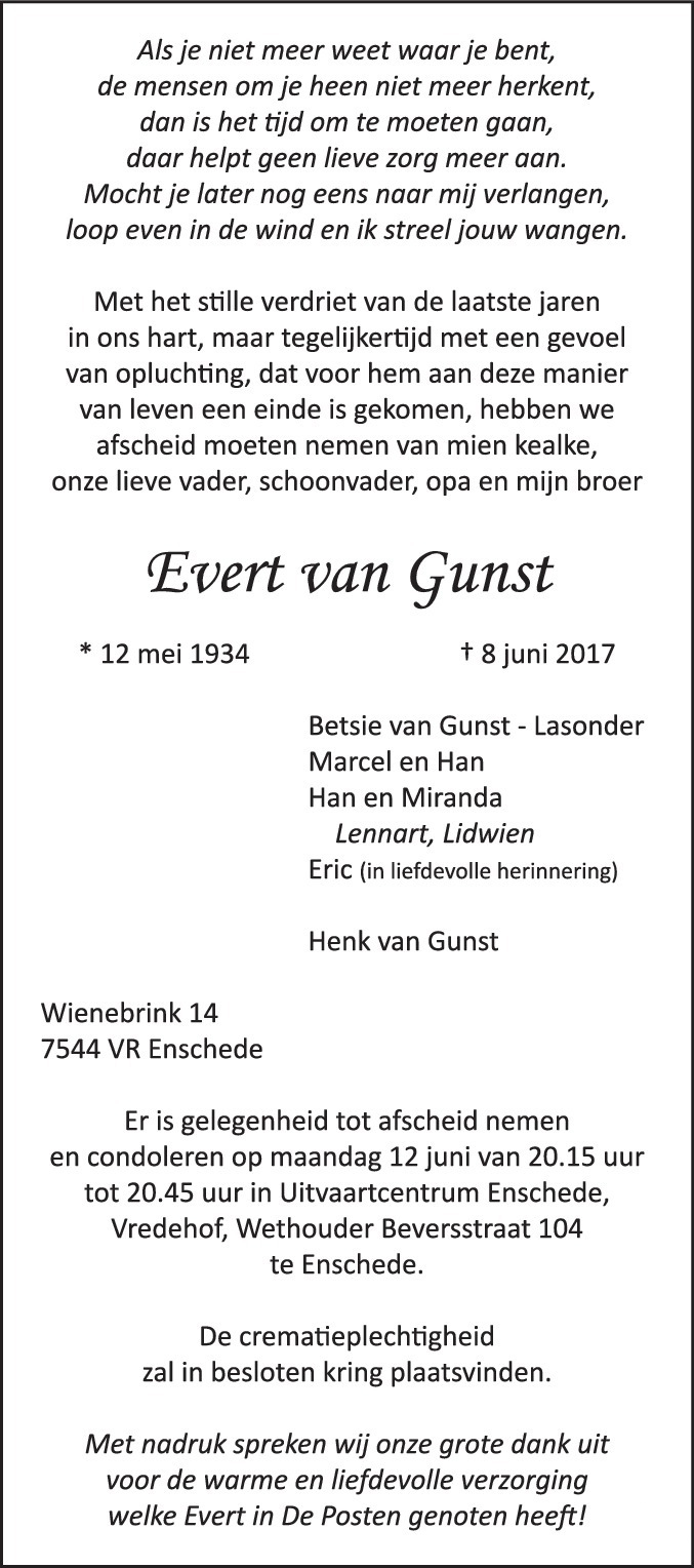 Weblog Van Marcel Van Gunst Aka Mas Genealogie Stamboom
