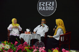 Rusli Habibie Berbagi Kisah Hidup di Kelas Inspirasi RRI Gorontalo