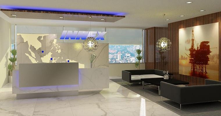 Prasetyo 39 s design journal reception area for corporate office for Office design journal