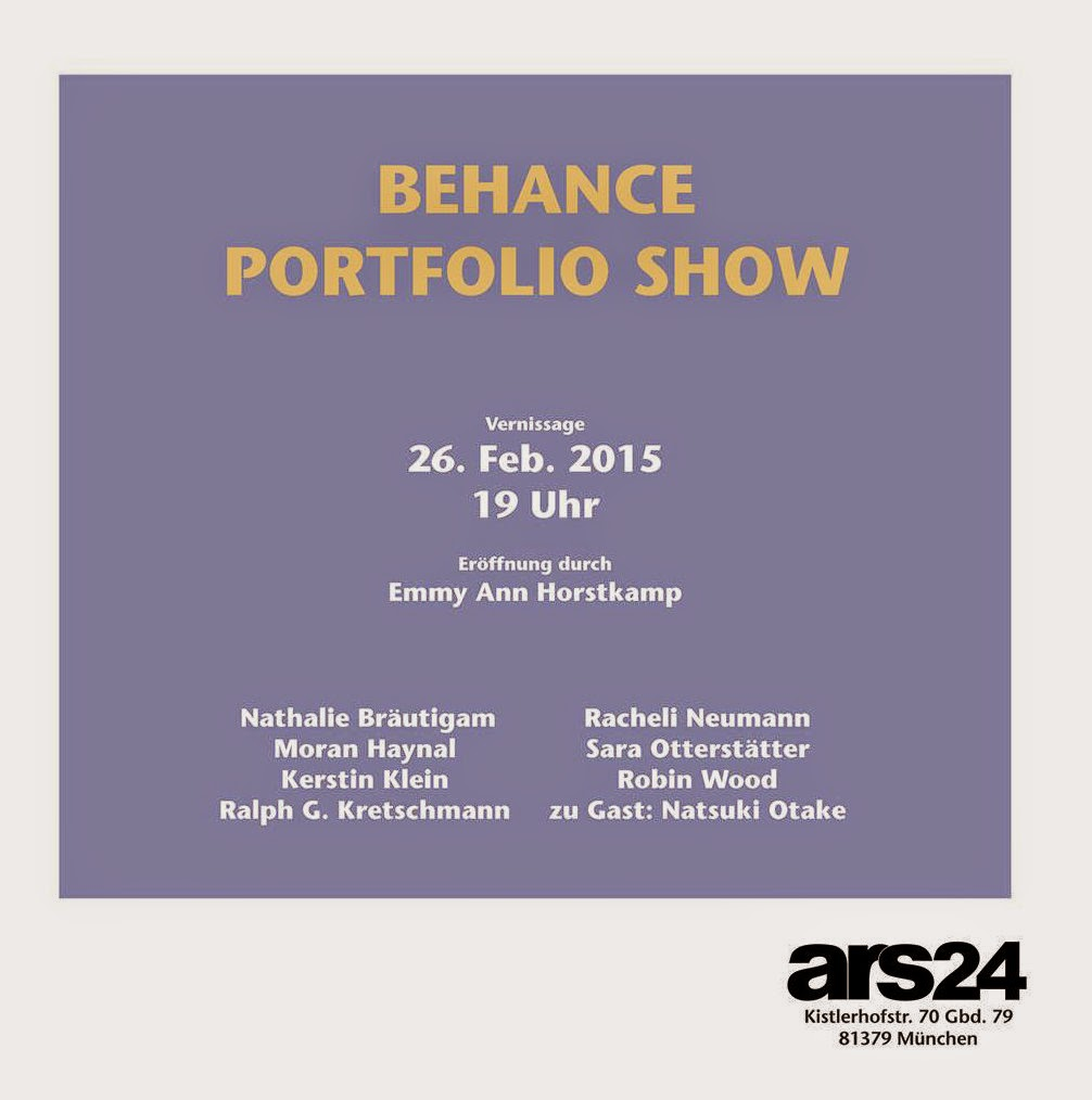 Vernissage, 26.02.2015 ab 19 Uhr