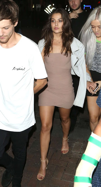 Danielle Campbell – Leaving Cirque le Soir in London