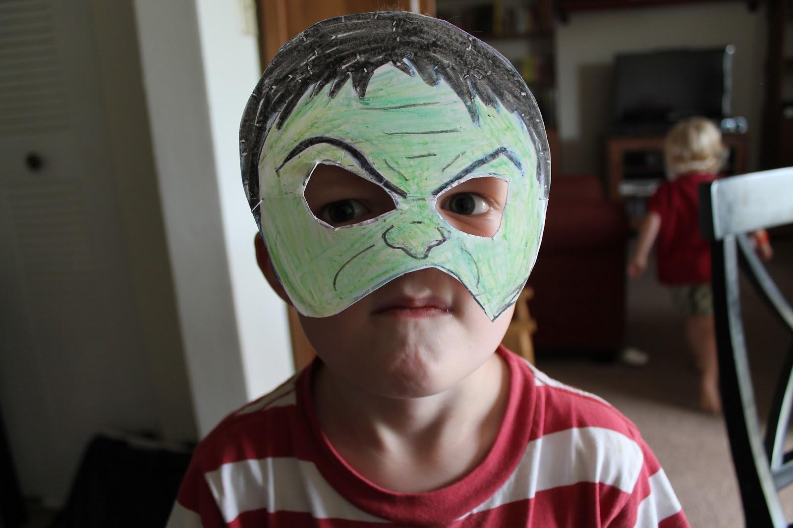 Freshly Completed How To Make Super Hero Masks In Under