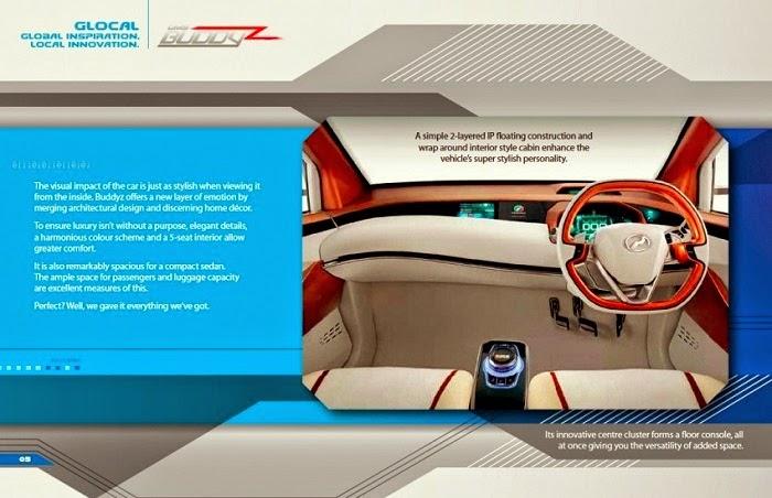 Perodua sedan konsep - Buddyz