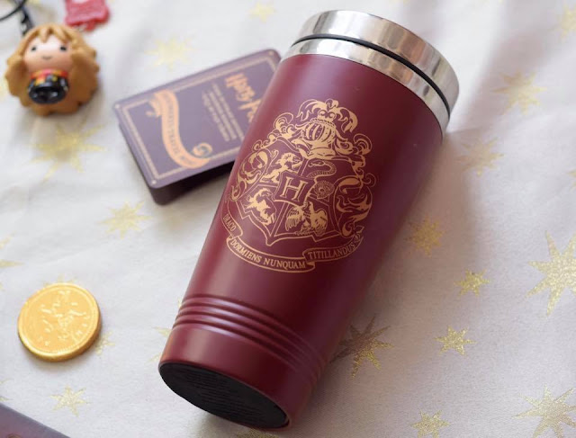Harry Potter Gifts - Hogwarts travel mug with crest