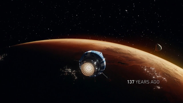 Mars as Earth's colony 137 years ago - image from The Expanse