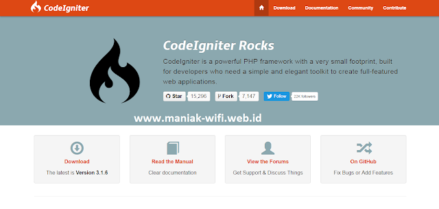 Free Download Website Codeigniter Offline Full Document