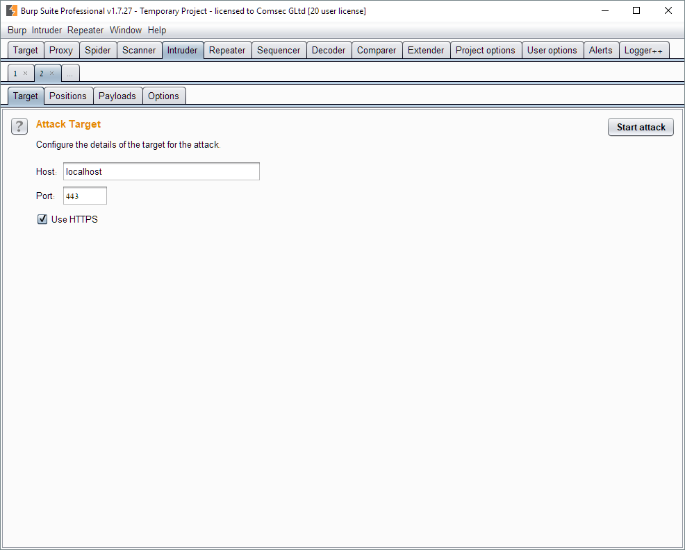 Comsec Blog On Information Security Comtech Using Burp Suite To