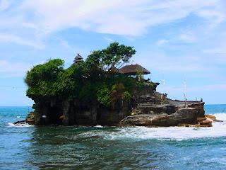 Rocky Tanah Lot Temple Bali
