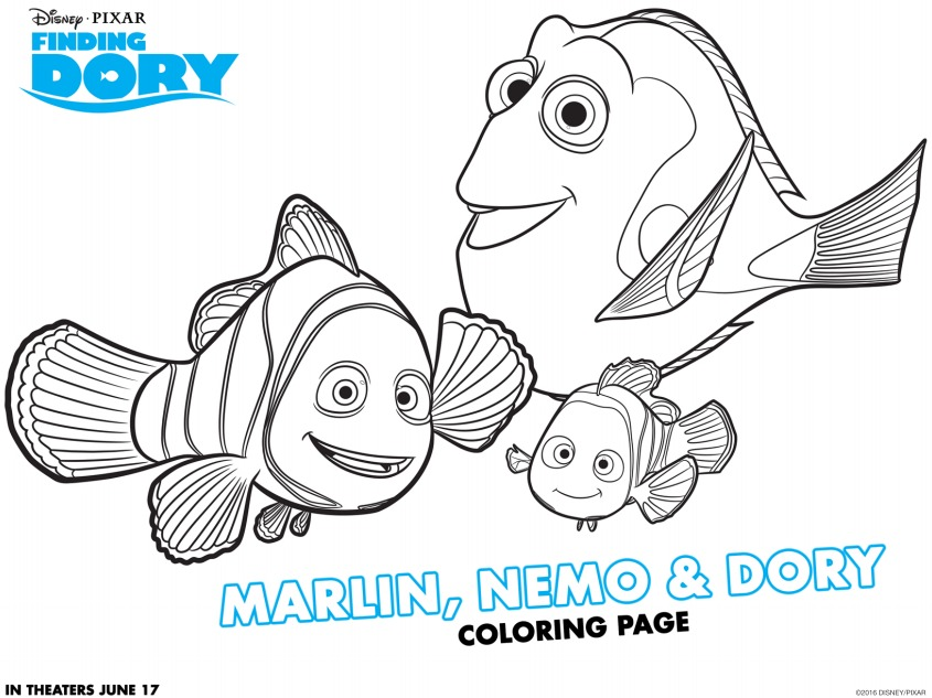 Download Some Fun Coloring Pages For Free To Enjoy Before And After The Movie