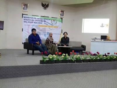 """Press Release Nuclear Talks 2016 Malang: """"INOVASI TEKNOLOGI NUKLIR UNTUK PERADABAN BANGSA INDONESIA MANDIRI"""""""