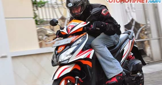 Modifikasi Honda Vario Techno 125