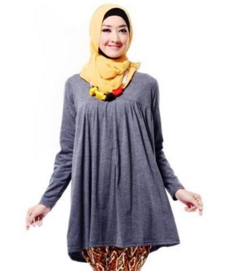 15 Baju Kerja Ibu Hamil Muslim Terbaru 2016 Cantik Dan Modis