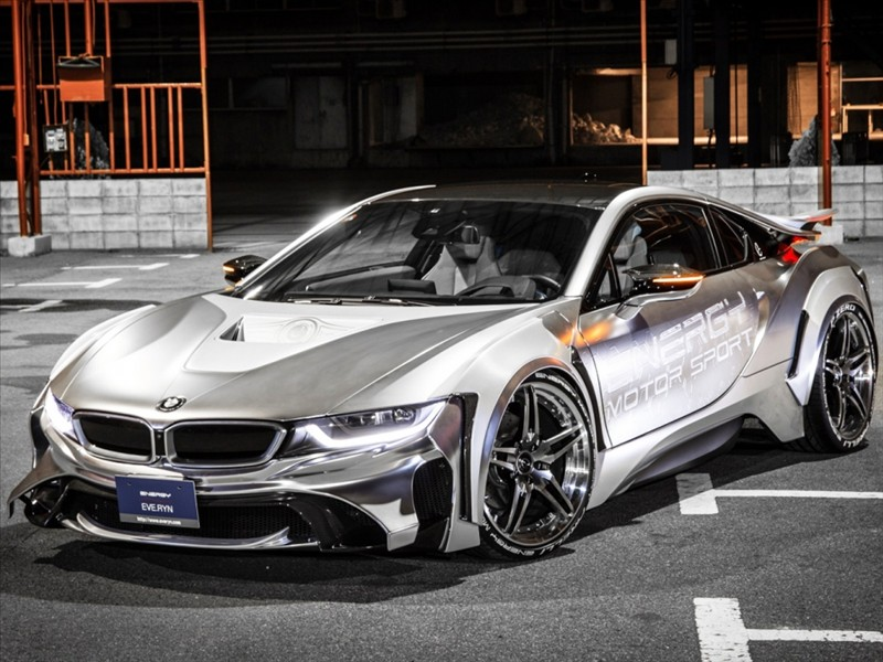 BMW i8 in a Star Wars look