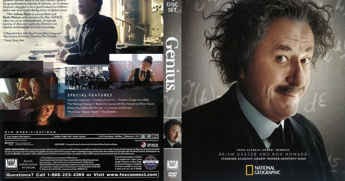 Genius DVD Cover | Cover Addict - Free DVD, Bluray Covers