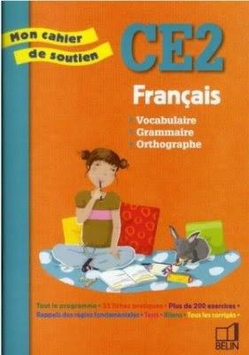 Télécharger Livre Gratuit Français - Mon cahier de soutien CE2 pdf